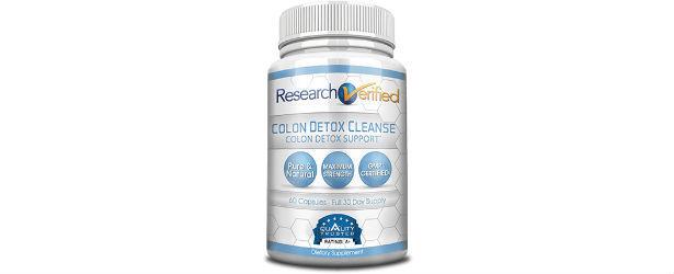 Research Verified Colon Detox Cleanse Review